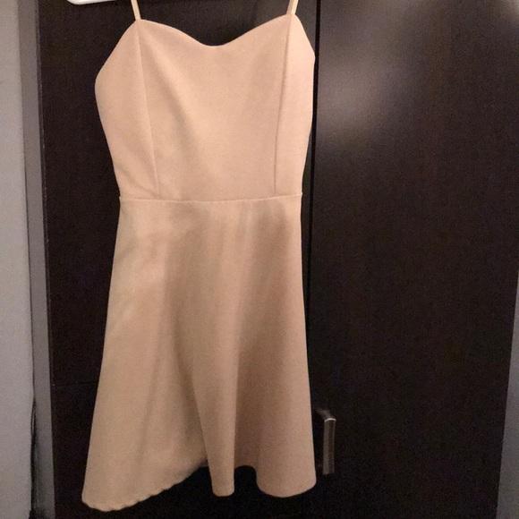 Tigerlily Dresses & Skirts - Cream plain dress